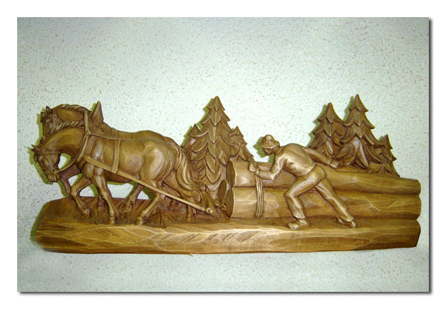 Fotogalerie woodcarving products ski instructor