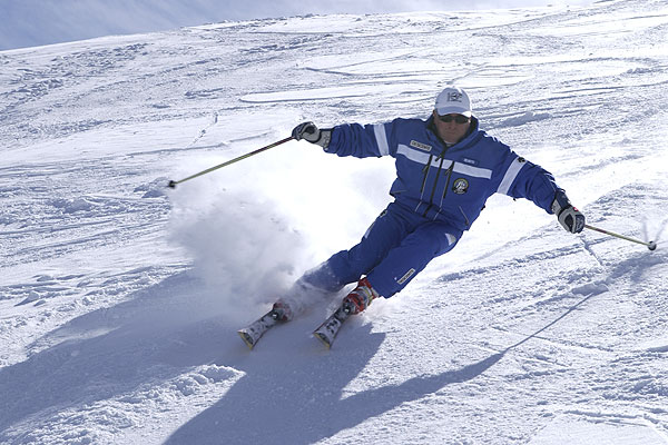 Ski carving instructor helmuth schieder skicarving
